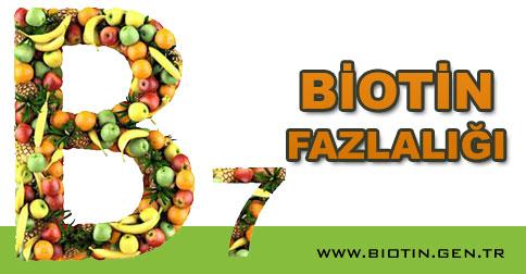 biotin-fazlaligi